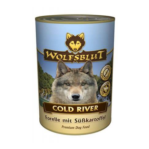 Wolfsblut Cold River Adult Forelle & Süsskartoffel