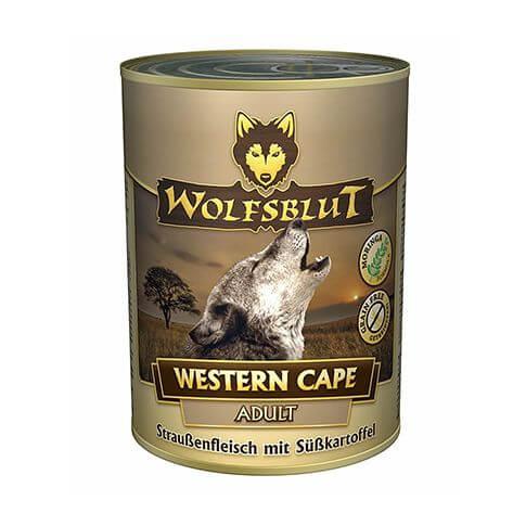 Wolfsblut Western Cape mit Strauss und Süsskartoffel