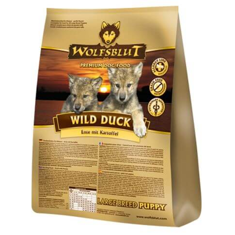 Wolfsblut Wild Duck Large Breed Puppy Ente & Kartoffel