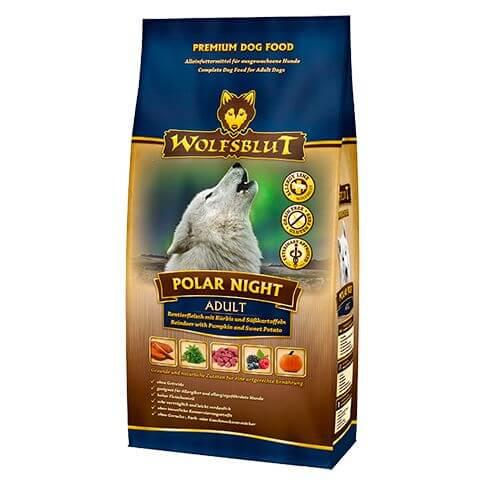 Wolfsblut Polar Night Adult mit Rentier und Kürbis