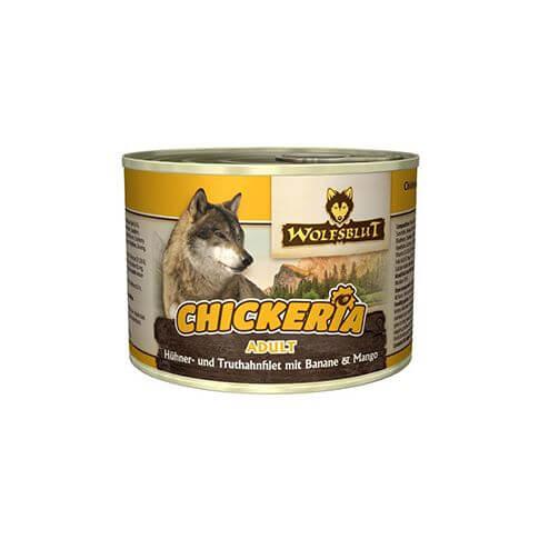 Wolfsblut Chickeria Hühner- & Truthahnfilet mit Banane & Mango
