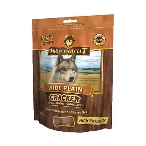 Wolfsblut Wide Plain High Energy Cracker mit Pferd & Süsskartoffel