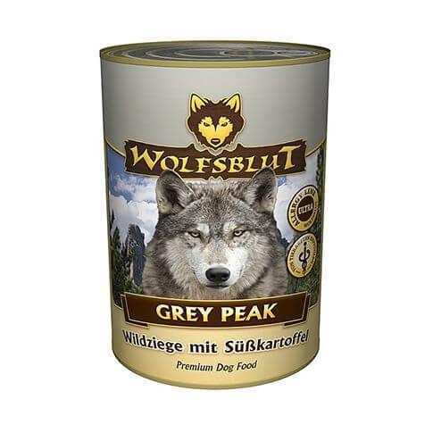 Wolfsblut Grey Peak Wildziege & Süsskartoffel
