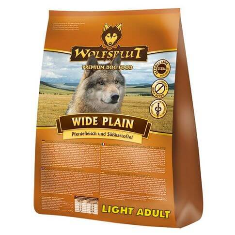 Wolfsblut Wide Plain Light Adult Pferd & Süsskartoffel